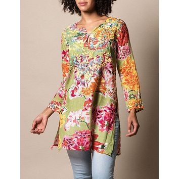 Mystic Garden Tunic - As-Is-Clearance - Small Only