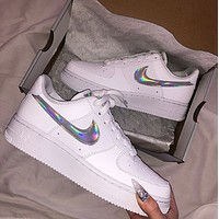 Hipgirls Nike Air Force 1 Laser couple low-top sports and leisure shoes