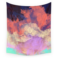 Society6 Into The Sun Wall Tapestry