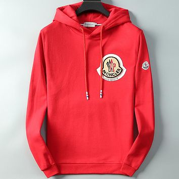 Boys & Men Moncler Casual Edgy Hooded Top Sweater