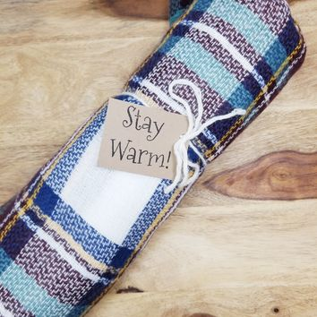Plaid Blanket Scarf Available In 10 Different Colors