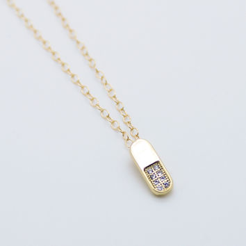 Pill necklace