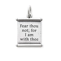 """""""For I Am With Thee"""" Scroll: James Avery"""