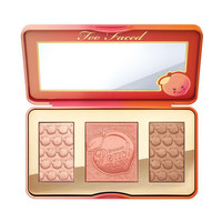 High light blush _too sweet peach glow 3 color peach rouge [11405529039]