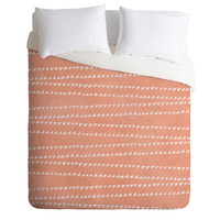 Loni Harris Tribal Tracks Duvet Cover