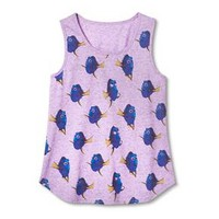 Girls' Finding Dory Tank Top - Lavender