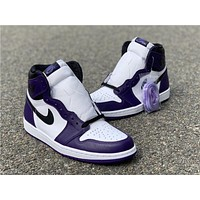 "Air Jordan 1 ""Court Purple"" 555088-500"