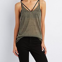 V-NECK HACCI TANK TOP