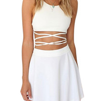 Co-ord In White
