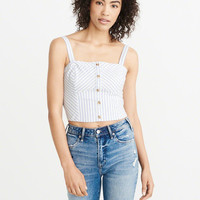 Womens Oxford Cami | Womens Tops | Abercrombie.com