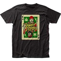 Mens Cheech and Chong Playing Cards T-Shirt
