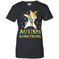 Dabbing Unicorn Puzzle Autism Awareness For Girls