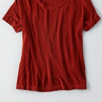 AEO Women's Don't Ask Why Crew T-shirt