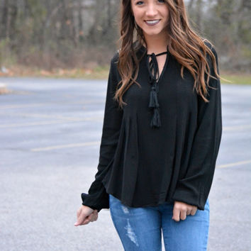 Simply Darling Peasant Top