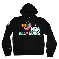 Mitchell & Ness 1996 NBA All Stars Chili Pepper Pullover Hoodie In Black