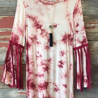 Tye Dye Fringe Dress