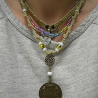 Vintage Hemp Necklace