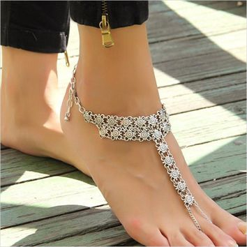 *online exclusive* - silver anklet