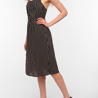 Reformed By The Reformation Ada Striped Midi Dress
