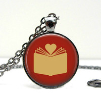 Book Love Necklace