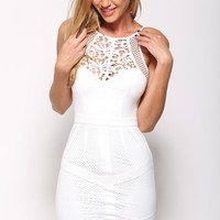 Dreamer Dress White
