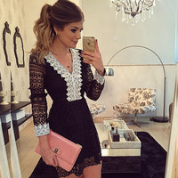 New Fashion Summer Sexy Women Mini Dress Casual Dress for Party and Date = 4661878276