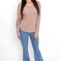 Stretch Fit Bell Bottom Jeans