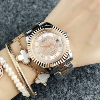 Womens rolex rhinestones watch