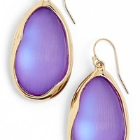 Alexis Bittar 'Lucite® - Liquid Metal' Oval Drop Earrings | Nordstrom