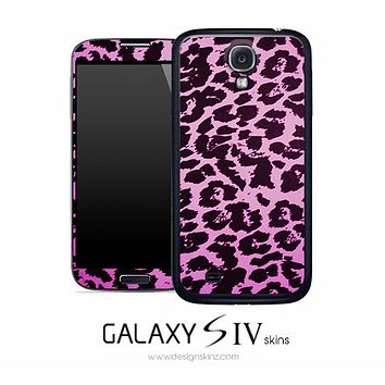 Pink Cheetah Skin for the Galaxy S4