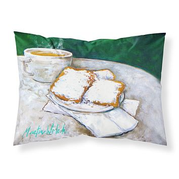 Breakfast Delight Beignets Fabric Standard Pillowcase MW1271PILLOWCASE
