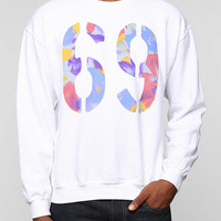 69 Fill Pullover Hoodie Sweatshirt  - Urban Outfitters