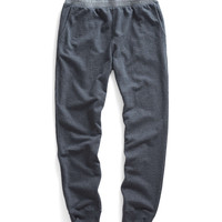 Robinson Sweatpant With Chambray Trim in Dark Charcoal