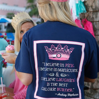 Jadelynn Brooke: I Believe in Pink {Nautical Navy}