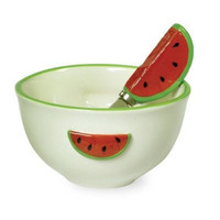 Watermelon Serving Bowl and Spreader [Set of 2]