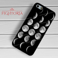 Moon Chart Phase Space-1nnya for iPhone 4/4S/5/5S/5C/6/ 6+,samsung S3/S4/S5,S6 Regular,S6 edge,samsung note 3/4