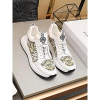lv louis vuitton men fashion boots fashionable casual leather breathable sneakers running shoes 93
