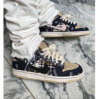 "Nike SB Dunk Low ""Jackboys"" cashew flower joint low-cut classic all-match casual sports shoes sneakers"