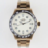 Lrg Galley Watch Gold/Cream One Size For Men 22517762101
