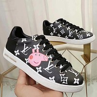 Louis Vuitton LV Old Skool Women Fashion Sneakers Sport Shoes