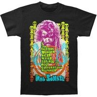 Rob Zombie Men's  Electrick Warlock Acid Watch T-shirt Black