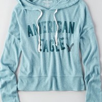 AEO Women's Signature Graphic Hoodie
