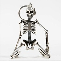 Foldable Skeleton Pendant key chain