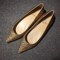 Cl Christian Louboutin Flat Style #723