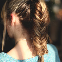 Free People Clothing on Tumblr (Hairstyle we love: the PonyFish)