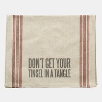 Primitives by Kathy 'Tinsel in a Tangle' Tea Towel | Nordstrom