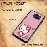 Hello Kitty Pink Lemon For Samsung Galaxy S6 - Gift Present Multiple Choice