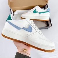Nike Air Force 1 Broken Hook Fashion Women Men Casual Sport Running Shoes Sneakers