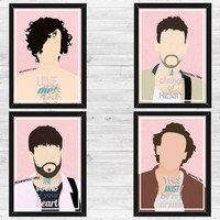 A3 Pink The 1975 Poster x4 *Save 20!*