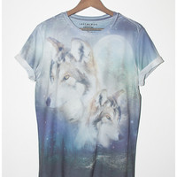 Forest Wolf Tee   Last But Won